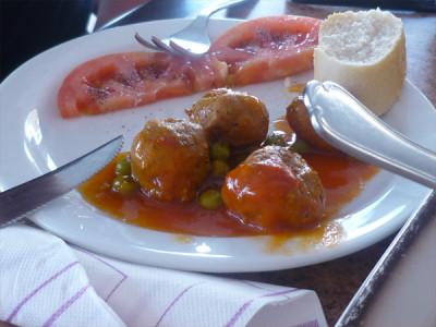 Albóndigas - Spanish meatballs