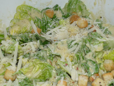 The best incredible caesar salad