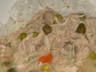 Chicken fricassèe