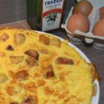 tortilla espanola or tortilla de patatas