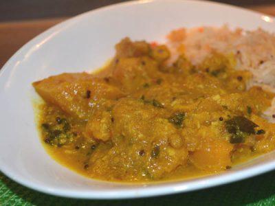 nadan mathan pumpkin curry